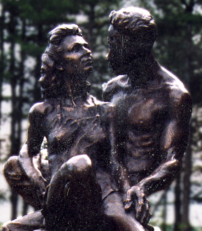 Remembrance, Fine art Bronze Sculpture by Robert Cunningham