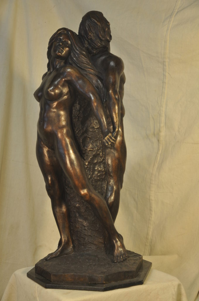 Together, Fine Art Figurative Bronze Sculpture by Robert Cunningham