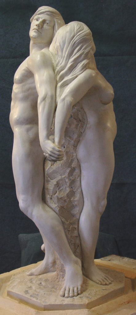 Together, Fine Art Figurative Sculpture by Robert Cunningham
