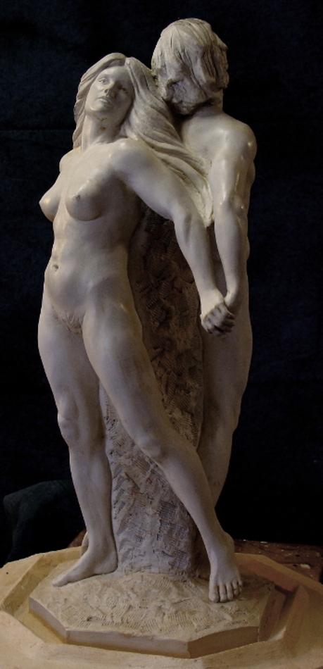 Together, Fine Art Figurative Sculpture by Robert Cunningham